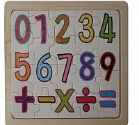 Koka puzle Skaitļi