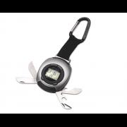 Multifunkcionāls rīks Nr. 172/16 (pulkstenis, hronometrs, modinātājs, LED lukturis, pudeļu attaisāmais)