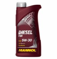 Sintētiskā motoreļļa - Mannol DIESEL TDI SAE 5W-30, 1L