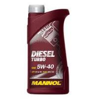 Sintētiskā motoreļļa - Mannol Diesel Turbo 5w40, 1L