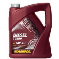 Sintētiskā motoreļļa - Mannol Diesel Turbo 5w40, 5L