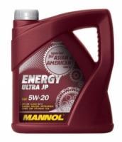 Sintētiskā motoreļļa - Mannol Energy Ultra JP 5W20, 4L