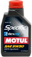 MOTUL SPECIFIC DEXOS2TM GM 5w30 1L