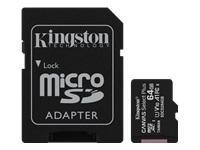 KINGSTON 64GB micSDXC Canvas Select Plus