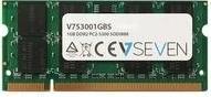 V7 Pamięć do laptopa V7 DDR2 SODIMM 1GB 667MHZ CL5 (V753001GBS) V753001GBS