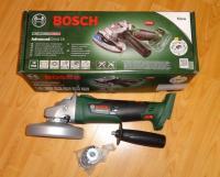 BOSCH AdvancedGrind 18 SOLO - (Bez akumulatora un lādētāja) / Akumulatora slīpmašīna / Bosch Advanced Grind 18 V / 06033D9002 / Bosch slīpmašīna 18V
