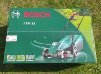 BOSCH ARM 32 Kompaktā Mauriņa pļaujmašīna / Elektriskais zāles pļāvējs 1200W / Rotak 32 / 0600885B03 / Elektriskais Pļāvējs bosch 32cm.