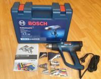 BOSCH GHG 23-66 AKCIJA + 5-cu uzgaļu komplekts + Koferis + 2gb.Kembriku komplekti / Bosch 06012A6301 / Tehniskais fēns 2300W, aizvieto veco modeli Bosch GHG 660 LCD