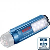 BOSCH GLI 12V-300 SOLO / GLI 10.8 V  Li-on / LED lukturis / 06014A1000 / Akumulatora Lukturis Bosch (bez lādētāja un bez uzlādes ierīces).GLI 12V (10.8V Li-oN).