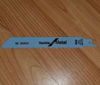 BOSCH GSA Zobenzāģa asmeņi metālam 1 asmens. Zobenzāģu plātnes Bosch PSA / GSA. Bosch S 922 BF / 2608656036 / 2608656014.