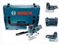 BOSCH GST 12V-70 + L-Boxx Koferis SOLO - (Bez akumulatora un lādētāja) / 06015A1002 / Akumulatora figūrzāģis GST 10.8 V