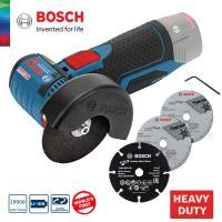 BOSCH GWS 12V-76 EC SOLO - (Bez akumulatoriem un lādētāja) Karton / 06019F2000 / Bosch GWS 10.8-76 V-EC Akumulatora Leņķa slīpmašīna 10.8V / 12V.