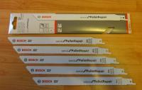 BOSCH PSA / Bosch GSA Zobenzāģa asmeņi paletēm 225x19x1.25mm iepakojumā 200gb. Zobenzāģu plātnes palešu remontam Bosch PFZ 500, PFZ 700, PSA 700 , PSA 900 / GSA 900, GSA 1100, GSA 1200, GSA 1300. modelis S1125 VFR (2608658038).