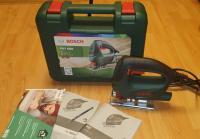 BOSCH PST 650 + Koferis + Speed Wood asmens / Elektriskais Figūrzāģis bosch 500W / Bosch 06033A0700 / PST650 / Bosch elektriskais figūrzāģis.