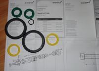 Bosch Rexroth remkomplekts (Rezerves daļas Rexroth / Aventics kods: 0490394702) / Ремкомплект Seal KIT 167/168-080 Bosch.