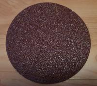 Pašlīmejošais disks Flexovit 125mm P40 Grauds / Fibro Disks Ø125mm Rupjums K40 / Prece ir Ofisā / Fibrodisks:Kokam, metālam un plasmasai / Materiiāls Velours / Диск фибровый 125мм.