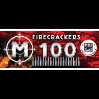 """Petardes """"Firecrackers M100"""", PXG206 -  Iegādāties var tikai veikalā uz vietas !"""