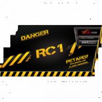 """Petardes """"RC1"""", PXP201 - Iegādāties var tikai veikalā uz vietas !"""