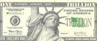 Triljons dolāru, suvenīra banknote