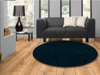 Paklājs apaļš vienkrāsains Atam turkis, 120x120 cm