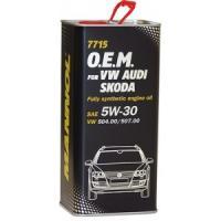 7715 O.E.M. VW AUDI SKODA 5W-30 5L 7715 O.E.M. VW AUDI SKODA  5L