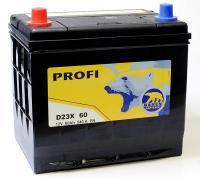 BAREN Akumulators D23X 60 230x170x223+- 60Ah 540A