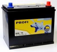 BAREN Akumulators D26 75 259x178x221-+ 75Ah 640A