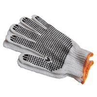 Darba cimdi pirkstaiņi ar gumijas punktiem vienā pusē, izmērs M/8, pāris (400-01577)