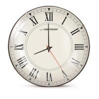 Esperanza EHC018R Sienas pulkstenis ar romiešu cipari. 30cm
