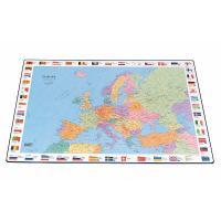 Galda segums Bantex 44x63 cm ar Eiropas karti (200-02543)