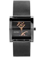 Gino Rossi Sieviešu rokas pulkstenis MIRIAM 6713B-1A1 (ZG542F) + BOX grafīta/rozā zelts