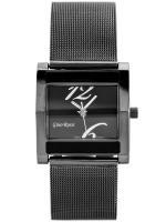 Gino Rossi Sieviešu rokas pulkstenis MIRIAM 6713B-1A3 (ZG542E) + BOX grafīta/sudraba