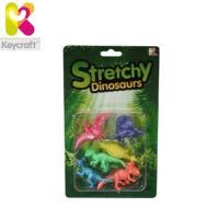 KeyCraft CR77 Gumijas Dinozauru figūriņu (6cm) komplekts (6gab.) bērniem no 3+ gadiem Krāsainie (CR77)