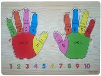 Koka puzle Pirkstiņi (4751022131666)