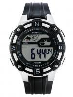 PERFECT Bērnu rokas pulkstenis 8581 (ZP280B) melna/sudraba