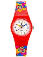 PERFECT Bērnu rokas pulkstenis D011 (ZP946C) sarkana