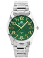 PERFECT Vīriešu rokas pulkstenis P012 (ZP304F) zaļa/sudraba