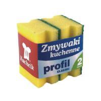 Trauku un saimniecības mazgāšanas sūklis KUCHCIK PROFIL CLASSIC, 70 x 90 x 45 mm, 2 gab./iepak. (400-03785)