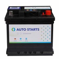 AUTO STARTS AUTO STARTS 52Ah 470A R+ 207mm x 175mm x 190mm Automašīnas akumulators