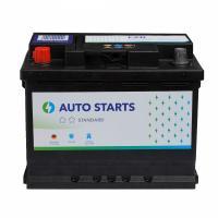 AUTO STARTS AUTO STARTS 60Ah 520A L+ 242mm x 175mm x 190mm Automašīnas akumulators