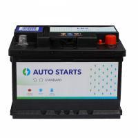 AUTO STARTS AUTO STARTS 60Ah 520A R+ 242mm x 175mm x 175mm Automašīnas akumulators