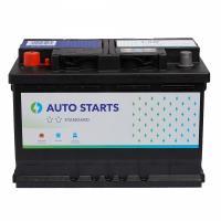 AUTO STARTS AUTO STARTS 74Ah 640A L+ 278mm x 175mm x 190mm Automašīnas akumulators