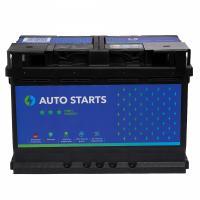 AUTO STARTS AUTO STARTS 77Ah 760A R+ 278mm x 175mm x 190mm Automašīnas akumulators