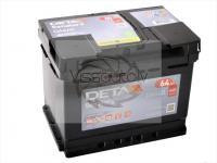 DETA SENATOR 3 64Ah 640A R+ 242mm x 175mm x 190mm Automašīnas akumulators