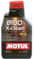 MOTUL 8100 X-CLEAN 5w30 1L Motoreļļa