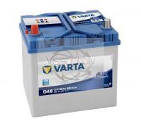 VARTA BLUE DYNAMIC D48 60Ah 540A L+ 232mm x 173mm x 225mm Automašīnas akumulators
