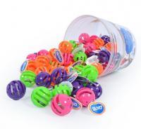 Duvo Plus Rattle Ball - graboša plastmasas bumbiņa