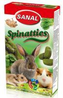 SANAL Spinatties, 45g - gardumi ar spinātiem