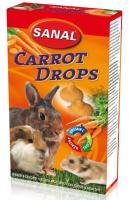 Sanal Carrot Drops, 45g - burkānu gardumi