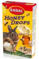Sanal Honey Drops, 45g - medus gardumi